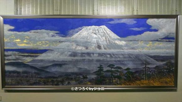 後藤純男美術館の「富士早春」