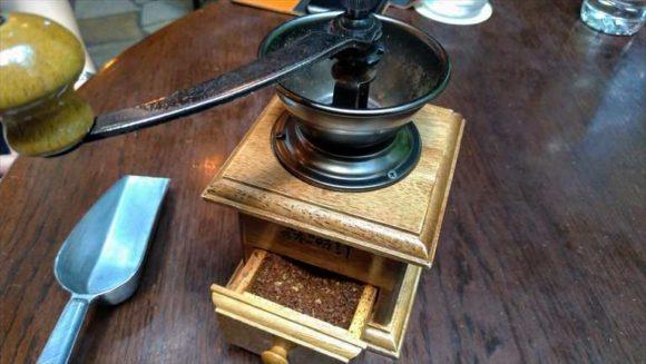 森の時計のコーヒーミル