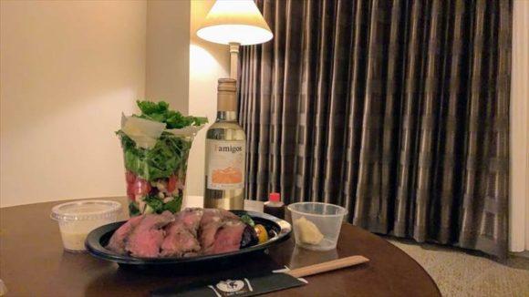 Oyster & Steak House esのステーキ丼