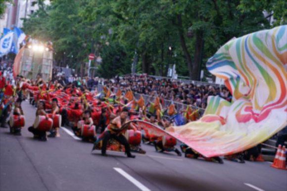大通公園のよさこいソーラン祭り