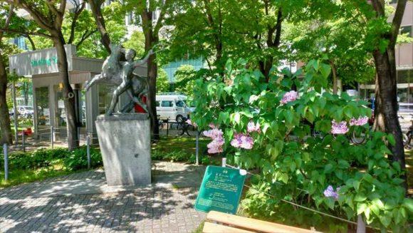 大通公園西3丁目の牧童の像