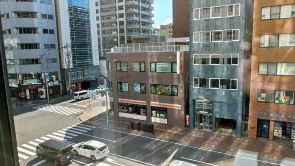 京王プレリアホテル札幌向かいのコンビニ