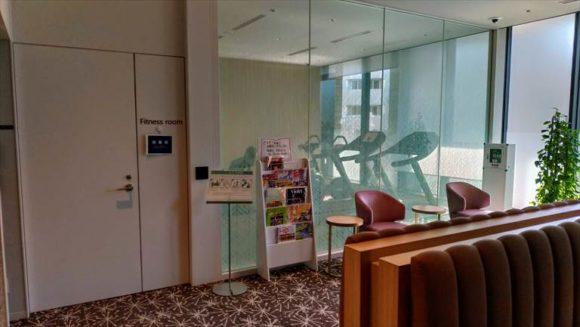 京王プレリアホテル札幌のフィットネスジム