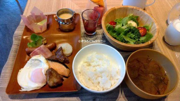 京王プレリアホテル札幌の朝食