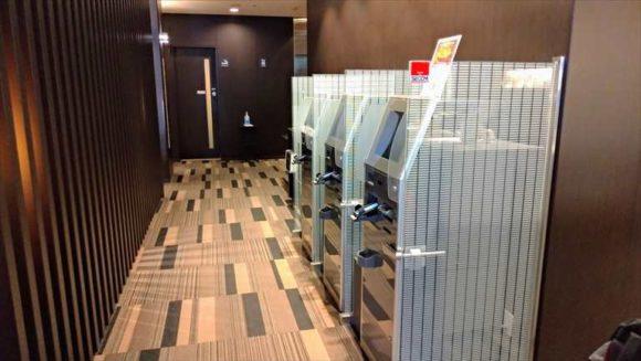 リッチモンドホテル札幌大通の自動精算機