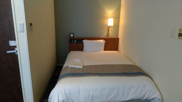 リッチモンドホテル札幌大通の禁煙シングルルーム