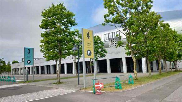 札幌ドームの駐車場