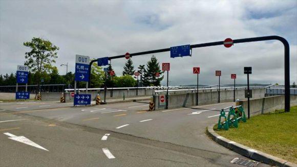 札幌ドーム駐車場