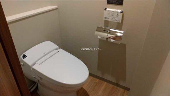 JRイン札幌駅南口の客室(シングル禁煙)