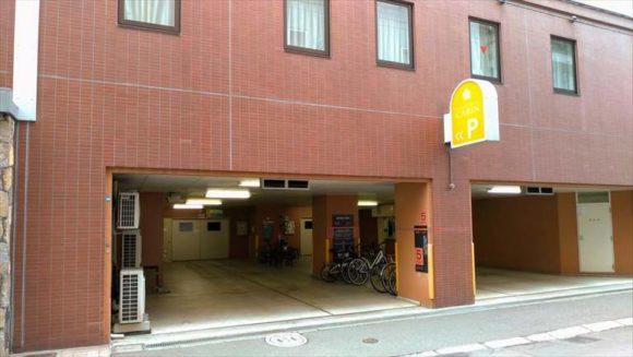 プレミアホテル-CABIN-札幌の駐車場