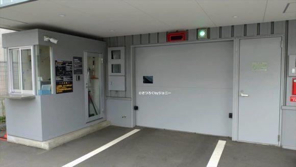 ベッセルホテルカンパーナすすきのの駐車場