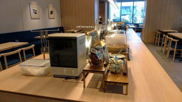 ベッセルホテルカンパーナすすきのの朝食ブッフェ