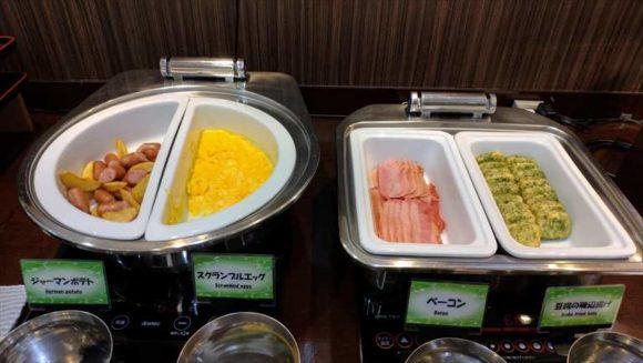 法華クラブ札幌の朝食ブッフェ