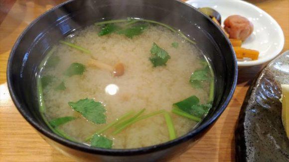 玉藤のお味噌汁
