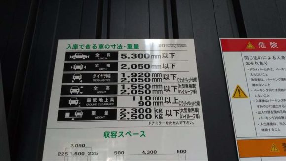 三井ガーデンホテル札幌ウエストの駐車場