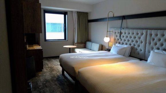 三井ガーデンホテル札幌ウエストの客室(モデレート ツイン)