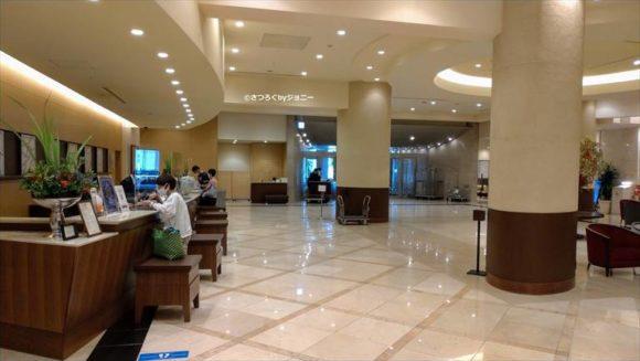 JRタワーホテル日航札幌のフロント