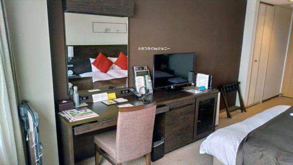 センチュリーロイヤルホテルの14階スタイリッシュキングルーム