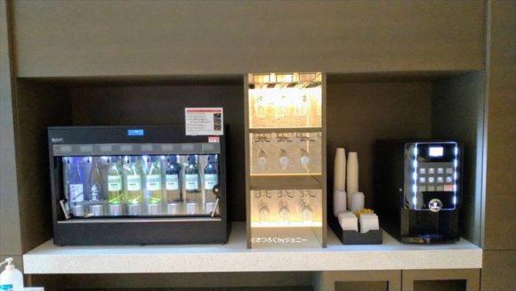 ホテルフォルツァ札幌駅前のワインバー