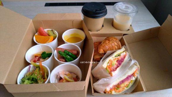 ホテルフォルツァ札幌駅前の朝食ブッフェ