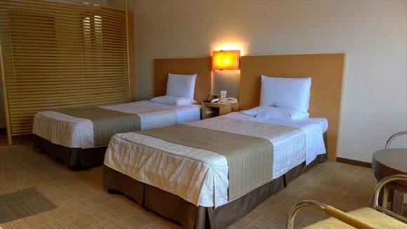 ホテルオークラ札幌の客室(スタンダードツイン)