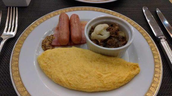 ホテルオークラ札幌の朝食ブッフェ
