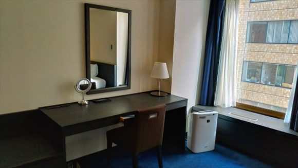 札幌グランドホテルの客室(東館スタンダード デラックスツインルーム)