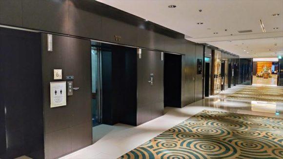 札幌グランドホテルのエレベーター