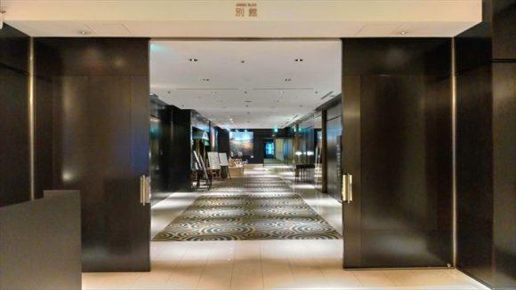 札幌グランドホテル別館入口