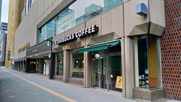 札幌グランドホテル併設スタバ
