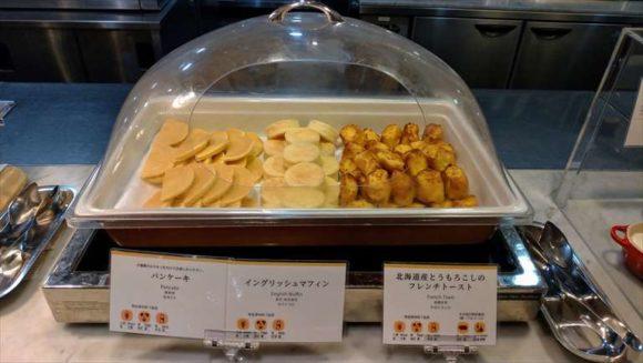 札幌グランドホテルの朝食ブッフェ