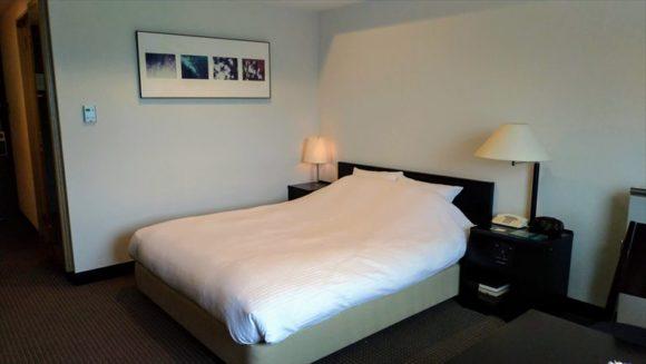 ホテルクラビーサッポロの客室(スーペリアダブルルーム)
