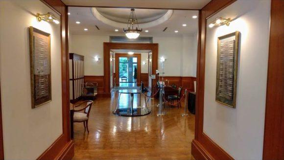 ホテルクラビーサッポロ1階
