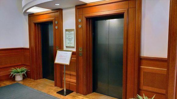 ホテルクラビーサッポロのエレベーター
