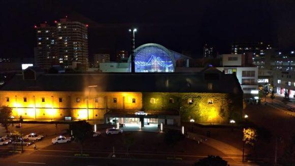 ホテルクラビーサッポロの眺望夜景
