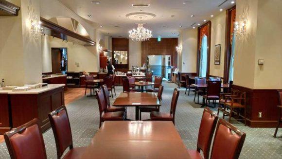 ホテルクラビーサッポロの朝食ブッフェ