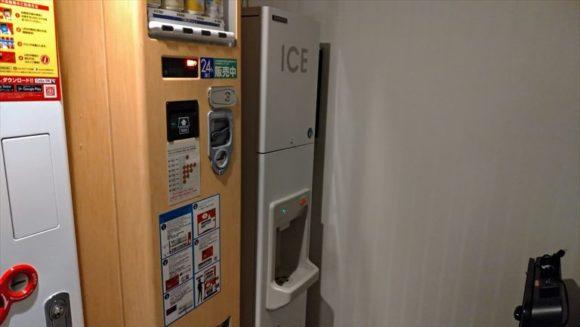 ホテルリソルトリニティ札幌の製氷機