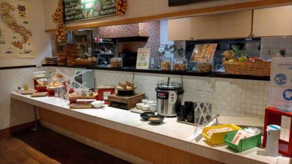 ホテルリソルトリニティ札幌の朝食ブッフェ