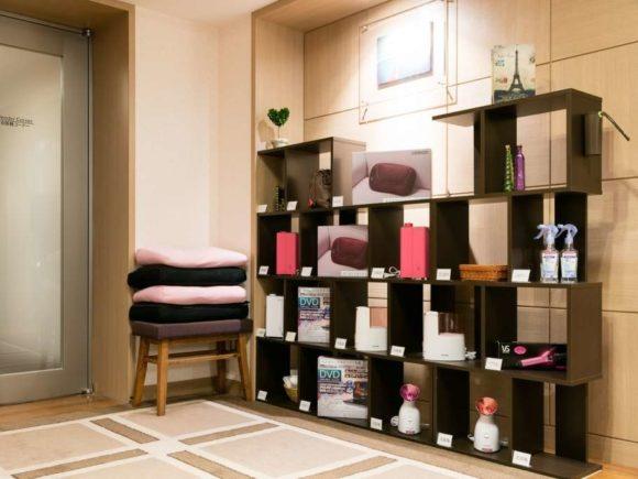 ホテルリソルトリニティ札幌のレディースフロアには専用貸出品