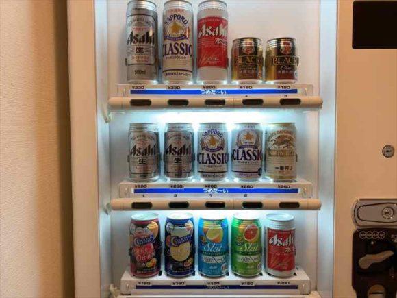 リッチモンドホテル札幌駅前の自動販売機
