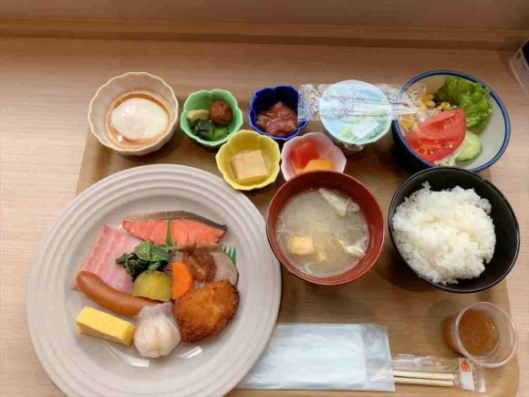 Tマークシティホテル札幌大通の朝食ブッフェ