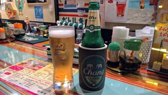 Caoマンガイのビール