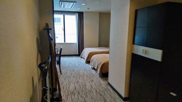 ふく井ホテル(帯広)の客室(デラックスツインルーム)