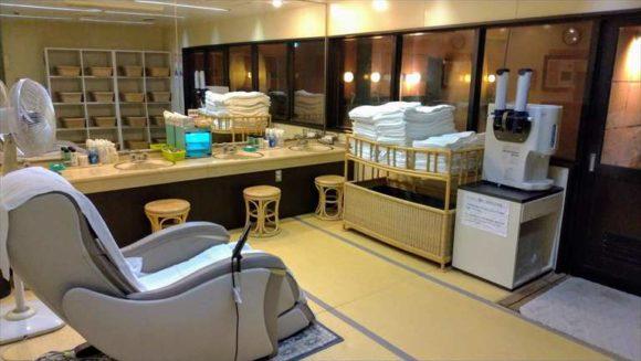 ふく井ホテル(帯広)の天然モール温泉大浴場