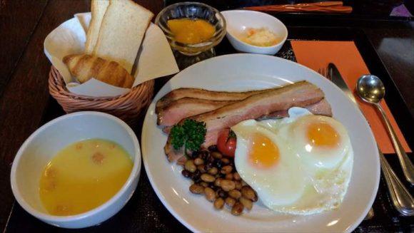 ふく井ホテルの朝食ブッフェ(洋定食)