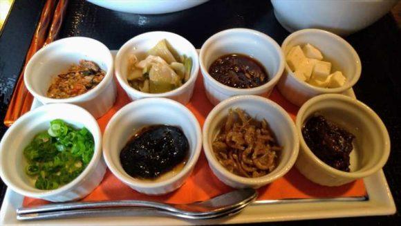 ふく井ホテルの朝食ブッフェ(中華朝がゆ)