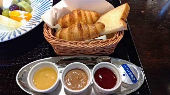 ふく井ホテルの朝食ブッフェ(コンチネンタル)