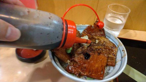 「豚丼のはなとかち」のタレ