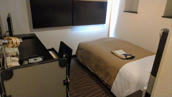 ふく井ホテルのシングルルーム