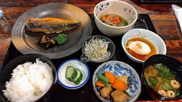 ふく井ホテルの朝食ブッフェ(和定食)